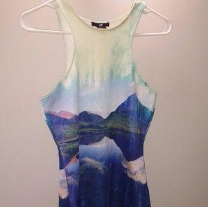 Beyonce H&M scuba dress small